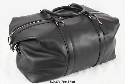 7a473fa3f New Coach Voyager 52 Sport Bag in Calf Leather Black F54802 Retails: $795.