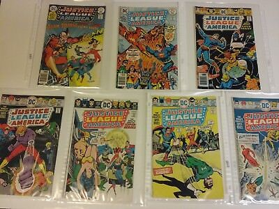 JUSTICE LEAGUE OF AMERICA LOT OF SEVEN (BRONZE) Wholesale