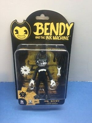 """Bendy and the Ink Machine """"Ink Bendy"""" Action Figure 5"""" NIB!!!"""