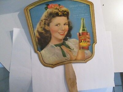Shirley Temple Vintage Royal Crown Fan