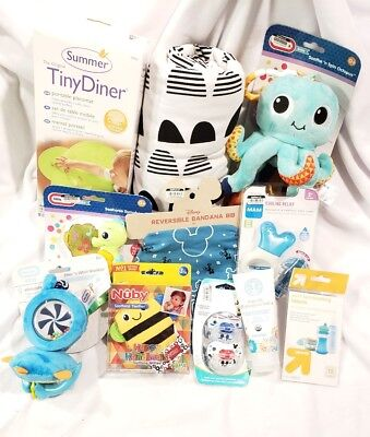 Lot of 11 Baby Items, NWT Retail $130