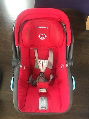 UPPAbaby Mesa Car Seat (red) *PRICE REDUCED* *PRICE LOWERED AGAIN!!!*