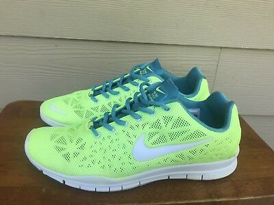 on sale 6120e 28896 NIKE FREE TRI Fit 3 Breathe Women's Running Shoes Volt Highlighter Yellow  Sz 9.5