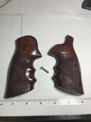 VINTAGE SMITH AND Wesson S&W N Frame Revolver Grips - $31.00 | PicClick