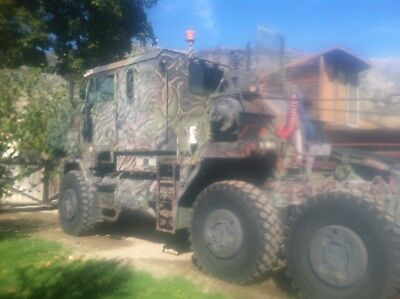 Winch truck, equipment hauler, military, M1070, 120 ton, hydraulic winches, reco