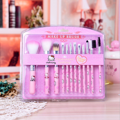 12x Pro Makeup Brushes Set Eyeshadow Eyeliner Lip Foundation Powder Brush Tool