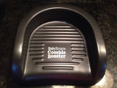 COOSHIE BOOSTER ~ Baby Smart Foam Black Seat Toddler Chair