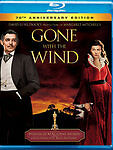 Gone with the Wind (Blu-ray Disc, 2010, Canadian)
