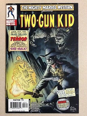 The Mighty Marvel Western featurning Two-Gun Kid #1 (Marvel Comics) w/She-Hulk