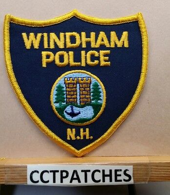 Windham, New Hampshire Police Shoulder Patch Nh