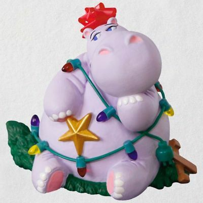 Hallmark 2018 ~ I Want a Hippopotamus for Christmas Magic Ornament