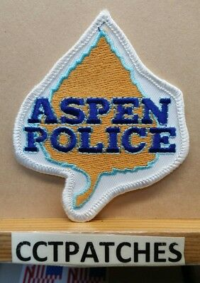 Aspen, Colorado Police Shoulder Patch Co