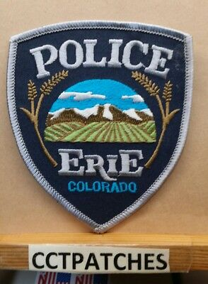 Erie, Colorado Police Shoulder Patch Co