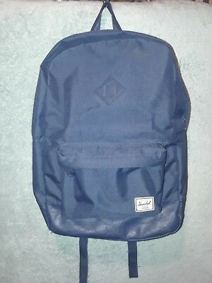 d6d9ddc3db6f Herschel Supply Co Heritage Classic Blue Canvas Backpack FREE SHIPPING!  -)