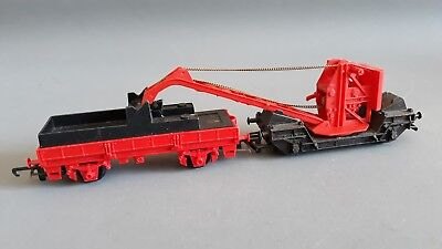 Hornby R127 Small Crane + Match Truck Good Condition Unboxed Oo Gauge(Fh)