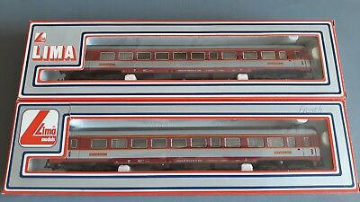 Lima Sncf French Restaurant Cars X 2 Very Good Condition Boxed Oo Gauge(Fh)