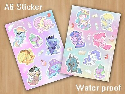 My little Pony Sticker Set