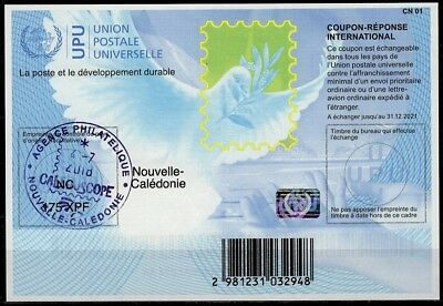 NOUVELLE CALEDONIE Is40A 20170901 AA Int. Reply Coupon Reponse IRC Antwortschein