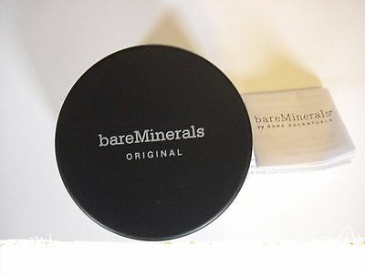 BARE Minerals Original Foundation Various Shades 8g Click Lock ---- FREE POST UK