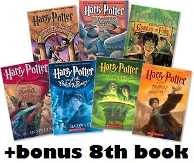 Harry Potter Audiobook 1-8 Read by Stephen Fry Digital MP3 Download