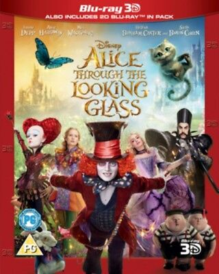 Alice Through the Looking Glass 3d+2d BLU-RAY NUEVO Blu-ray (buy0263001)