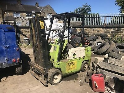 Clarke 3t Fork Lift Truck Spare Or Repair