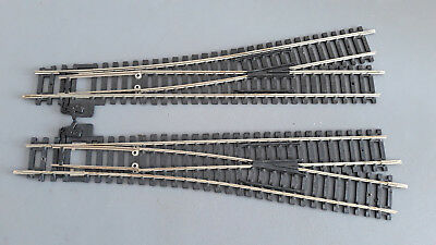 Hornby Manual Express Points X 2 R622 R623 V.good Condition Unboxed Oo Gauge(Gb)