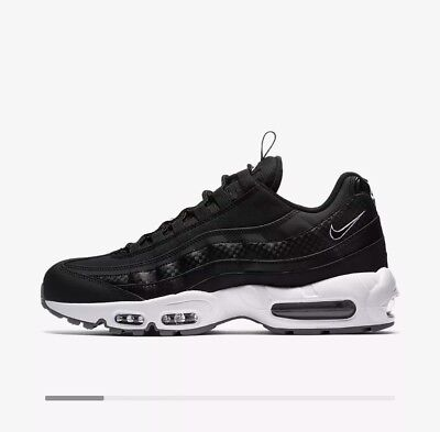 Nike Air Max 95 SE Men's Shoes Trainers Black/White/Cool Grey UK Size 8