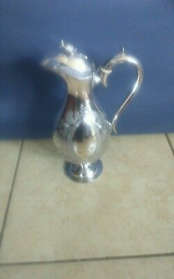 Ornate Silver Plated Claret Jug