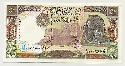 Syria 50 Pound 1998 Pick 107 UNC Uncirculated Banknote