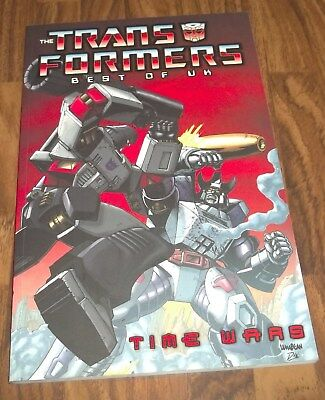 TRANSFORMERS BEST OF THE UK TIME WARS GRAPHIC NOVEL IDW BOOKS (trade paperback)