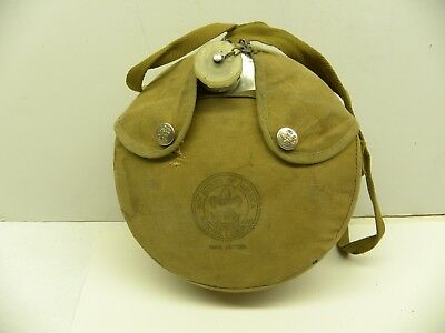 1960s Boy Scouts of America Official Canteen in its Original Carrying Bag
