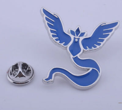 Team Mystic Badge Pokémon Go Articuno Logo Metal Pin Brooth 1pcs