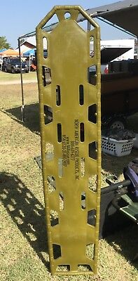 NORTH AMERICAN RESCUE PRODUCTS  Spine Board. Mil Surplus.