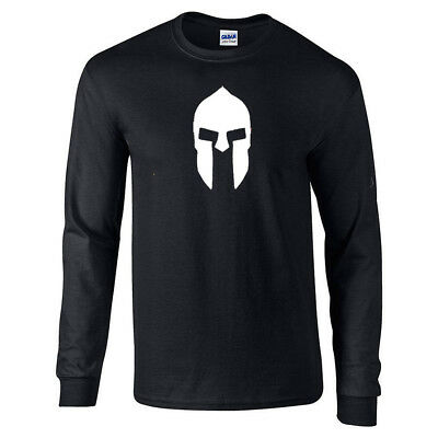 Spartan Warrior Helmet  Men's Long Sleeve Shirt