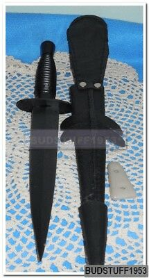 New in Box British Commando Knife with Leather Sheath Knife 17BKSN1