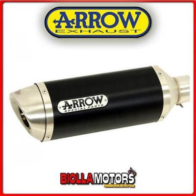 71831Aon+71639Mi Terminale Arrow Street Thunder Yamaha Mt-03 2017 Dark/inox + Co