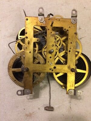 Antique Sessions Beehive Arch Mantle Clock Movement