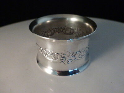 1 Replacement Wallace Baroque #734 Napkin Ring Silver Plated