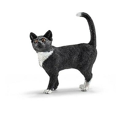 Schleich Cat Standing Animal Figure NEW Educational Toys and Figures