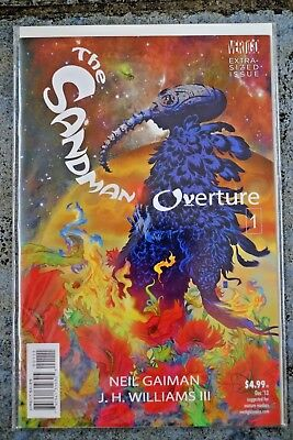 The Sandman Overture #1 First Print, Vertigo Comics, Neil Gaiman DEC '13