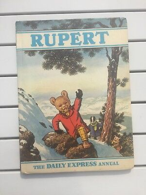 Vintage Rupert Annual 1970 Daily Express Annual Children's Book / Vintage / Exc