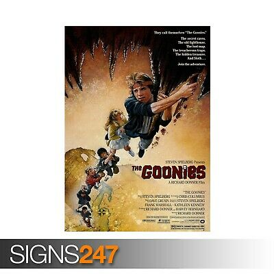 THE GOONIES (ZZ028)  MOVIE POSTER Photo Picture Poster Print Art A0 to A4