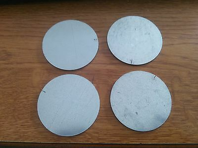 2.5mm Galvanised Round Disc Steel Ring 69x5 Qty 4