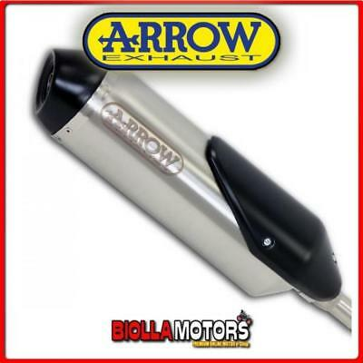 53503STP+53003MI SCARICO ARROW REFLEX HONDA SH 150i 2010 INOX/DARK + COLLETTORE