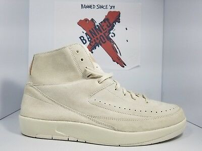 online store 60808 8c2b3 NIKE AIR JORDAN 2 Retro Decon 897521-100 Size 12 sail off white rare