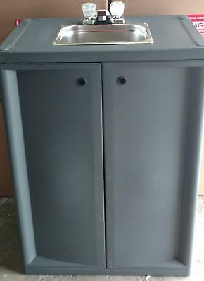 Refurbished Portable Self Contained Sink With Hot Water