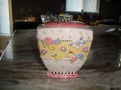 Mary Engelbreit Meadow Hostess Square Sugar Bowl With Lid