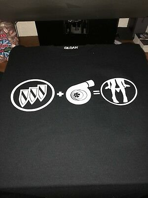 Buick Turbo T Shirt Grand National T Type Small To 3x Available