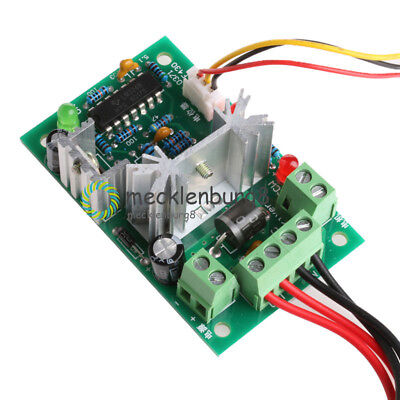 DC 10-36V Motor Speed Controller Reversible PWM Control Forward / Reverse Switch